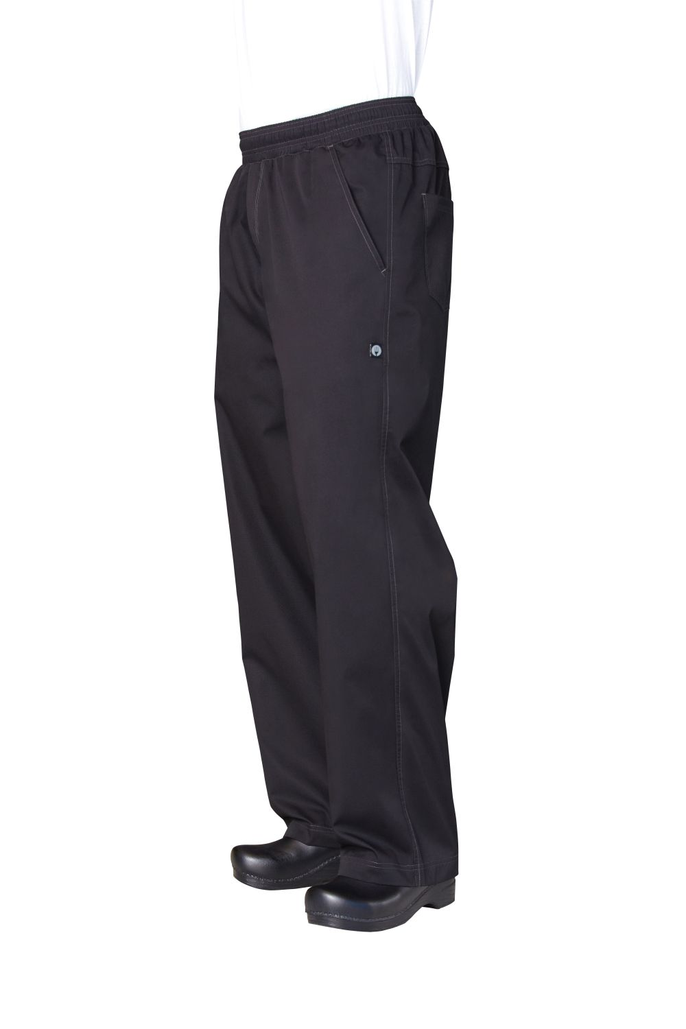 Basic Mens Baggy Lightweight Chef Pants-CW