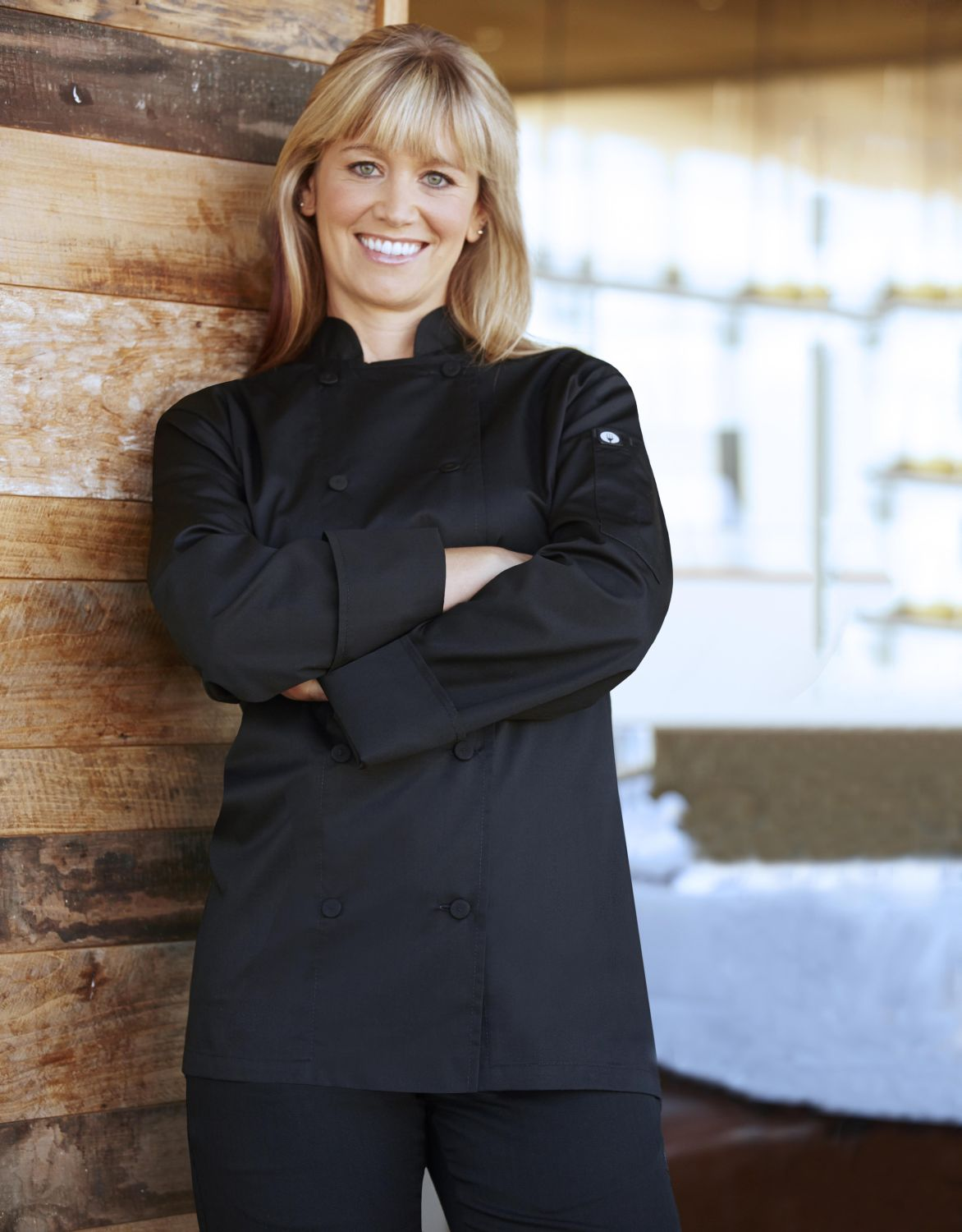 Light Weight Lady Chef Jacket