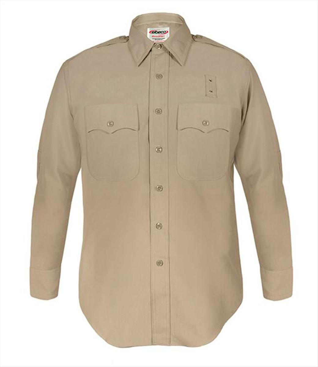 California Highway Patrol Class A Wool Blend Long Sleeve Shirts for Men-Elbeco