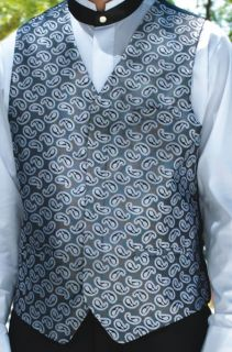 Paisley, Fullback Vest-Fabian Couture Group International