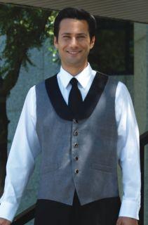 2024V Satin Shawl Tuxedo Vest-Fabian Couture Group International