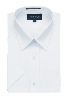 Short Sleeve Dress Shirt 65 Poly / 35 Cotton