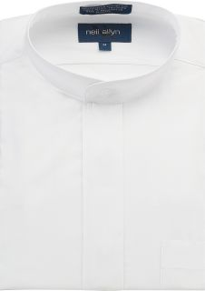 Banded Collar Dress Shirt-Fabian Couture Group International