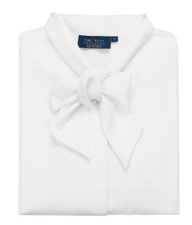 Polyester Bow Front Blouse