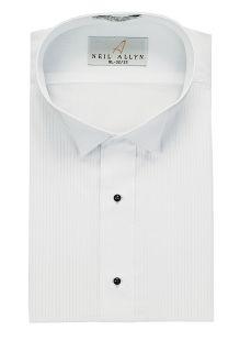 Wool Plain Adjustable Waist Tuxedo Pant-Fabian Couture Group International