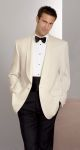 100% Polyester Ivory Dinner Jacket-Fabian Couture Group International