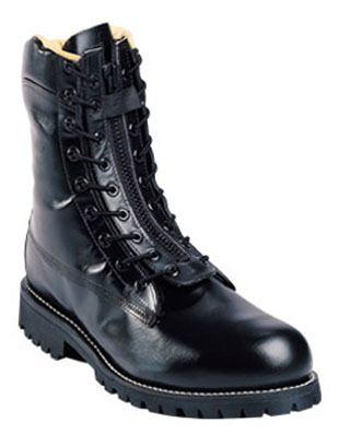 "Chippewa 8"" Black Polishable Station Boot-"