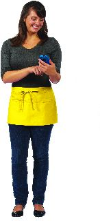 Three Pocket Waist Apron-