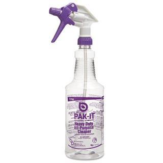 BIG5744-2000-4012 Pak-It® Color-Coded Trigger-Spray Bottle, Bottle, w*