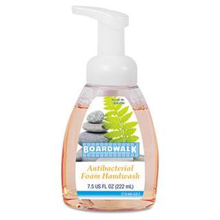 BoaRedwalk® Antibacterial Foam Hand Soap, Soap, Foam, 7.5oz, Amb