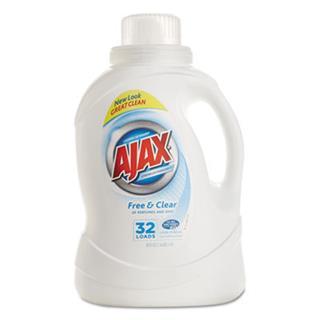 Ajax® 2xultra Liquid Detergent, Lndry Liq, 50oz-LaGasse Sweet Janitorial