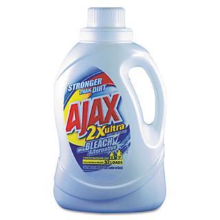 Ajax® 2xultra Liquid Detergent, Dtrgnt, Lndry, Blch, 50oz-LaGasse Sweet Janitorial