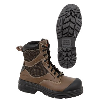 Composite Toe/Plate Leather Safety Work Boot-Pioneer