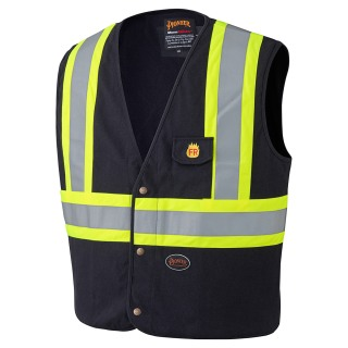 129 100% Cotton FR Safety Vest-Pioneer