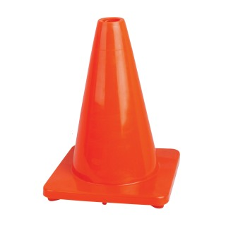 "12"" Premium PVC Flexible Safety Cone-Pioneer"