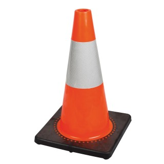 "18"" Premium PVC Flexible Safety Cone"