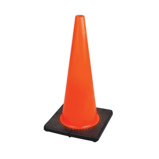 "183P 28"" Premium PVC Flexible Safety Cone"