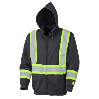 337SF Flame Resistant Zip Style Heavyweight Safety Hoodie