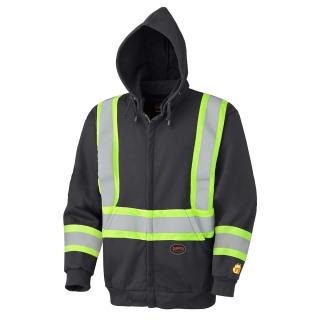 337SF Flame Resistant Zip Style Heavyweight Safety Hoodie-Pioneer