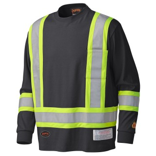 340SF Flame Resistant Long-Sleeved Safety Shirt-Pioneer
