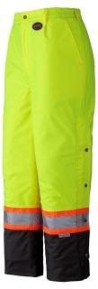 5044 Hi-Viz 100% Waterproof Quilted Pant