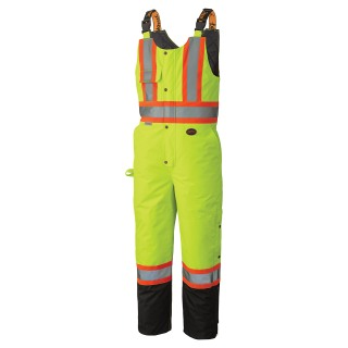 5047 Hi-Viz Heavy-Duty 100% Waterproof Insulated Bib Pant
