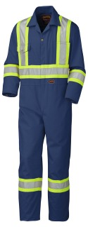 5516 Safety Poly/Cotton Coverall