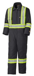 5522 Flame Resistant Quilted Cotton Safety Coverall-Pioneer