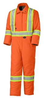 5532A Flame Resistant Quilted Cotton Safety Coverall-Pioneer
