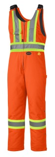 5534A Flame Resistant Quilted Cotton Safety Overall-