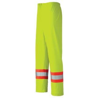 5899 Flame Resistant PU Stretch Hi-Viz Rain Waist Pant