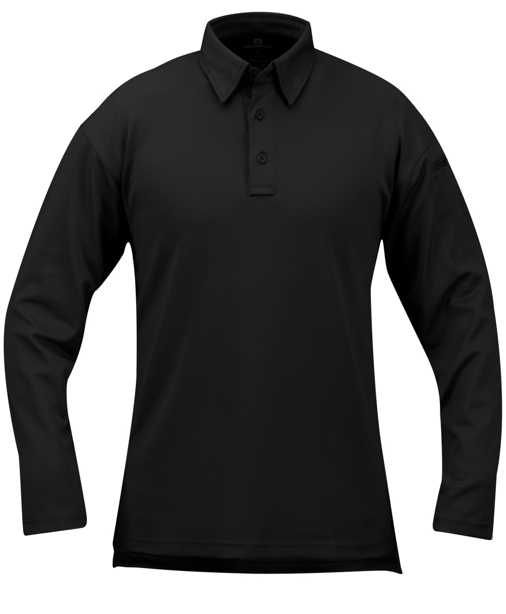 Men's Performance Polo - Long Sleeve-Propper