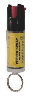1/2 oz. Pepper Spray w/key ring (no case)