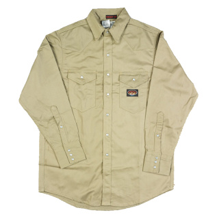 Khaki FR Lightweight Work Shirt