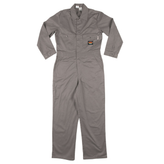 Gray FR LightweightCoverall-Rasco FR