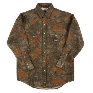 10 Oz. Camo FR Shirt