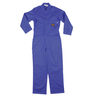Royal Blue FR Lightweight Coverall WITH YOUR COMPANY LOGO