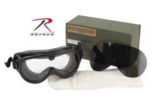 *gi Sun-Wind-Dust Goggles-Ballistic Lens
