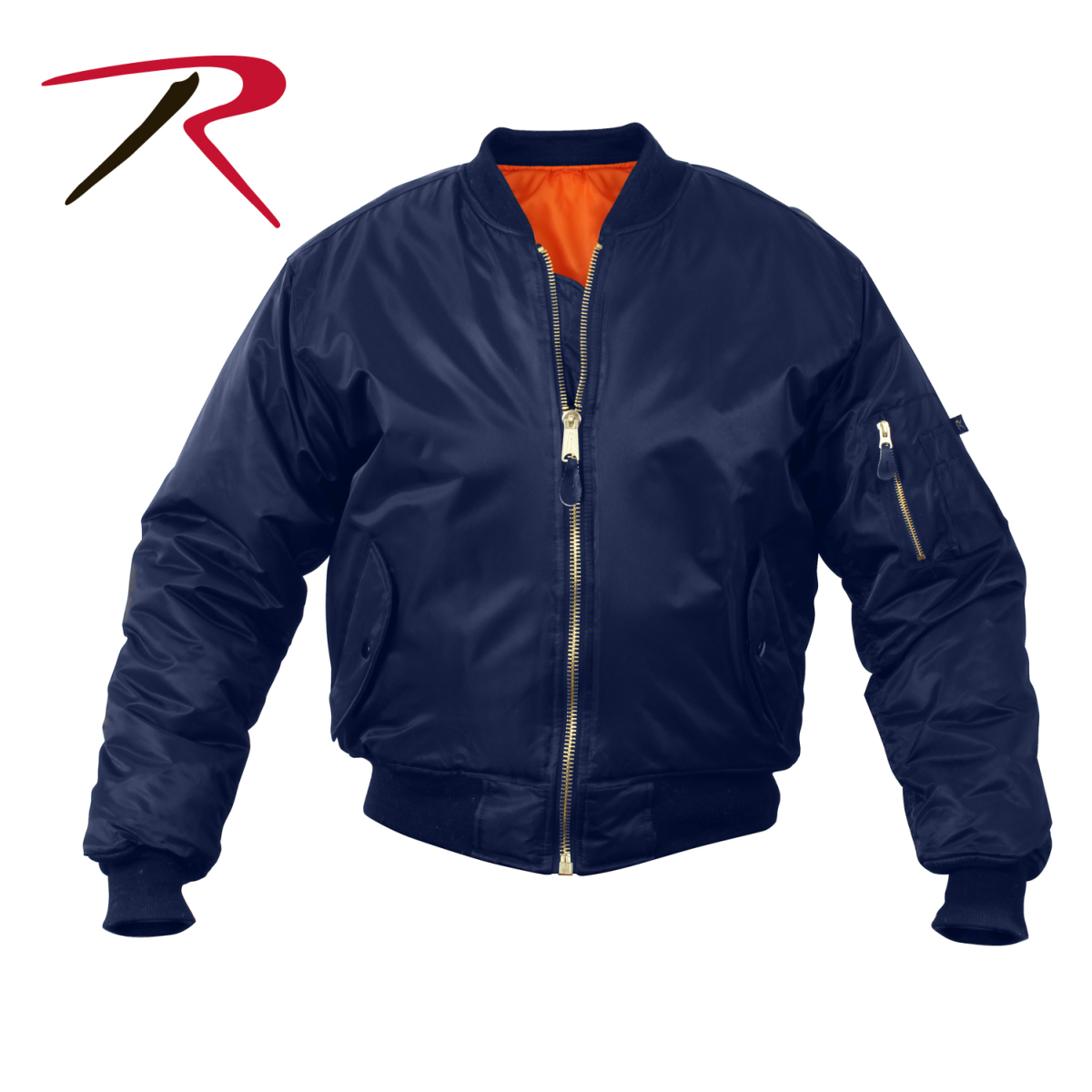 Rothco ® Navy Blue Ma-1 Flight Jacket