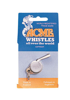 """Acme"" Nickel Plated Thunderer Whistle"