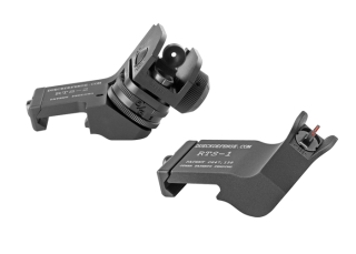 Rapid Transition Sights With Fiber Optic Inserts-Safariland