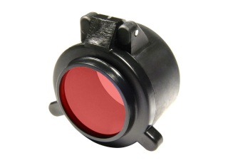 "F26 Red Filter for 1.25"" Diameter Bezels-Surefire"