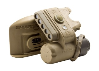HL1-D Helmet Light with Molle Clip-