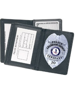 Side Open Badge Case with Credit Card Slots - Dress-