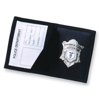 Ballistic Badge Case-Strong Leather
