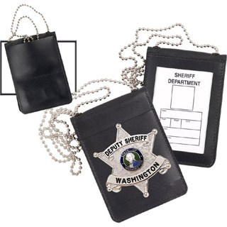 Universal Magnetic Badge and ID Holder-