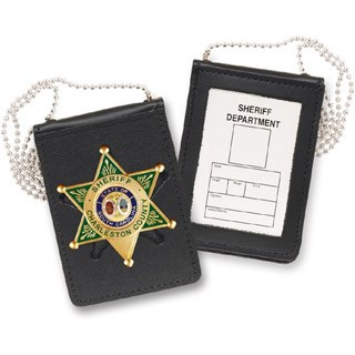 Recessed Magnetic Badge and ID Holder-