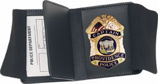 74850_Side Open Double ID Badge Case - Duty-Strong Leather