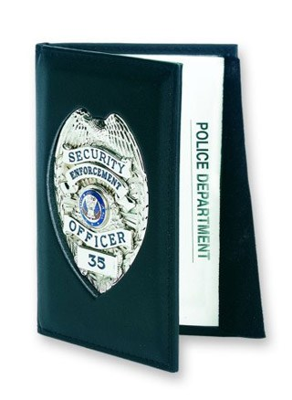 76600_Outside Badge Mount Case - Dress-Strong Leather