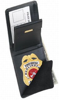 79100_Traditional Badge Wallet - Dress-Strong Leather